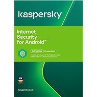 Kaspersky Internet Security pro Android CZ pro 1 mobil nebo tablet na 12 měsíců (elektronická licenc
