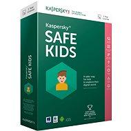 Kaspersky Safe Kids ENG obnova pro 1 zařízení na 12 měsíců (elektronická licence)