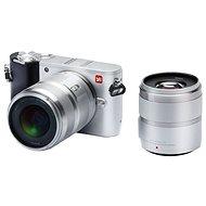 Yi M1 4K Mirrorless Camera Silver + 12-40mm + 42.5mm