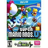 Nintendo Wii U -  New Super Mario Bros. + New Super Luigi