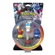 Pokémon Diamond & Pearl: Sběratelské figurky 3+1