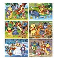 Dino Dřevěné puzzle Medvídek Pú
