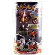 Pokémon - Sada 4 figurek - Charizard