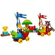 LEGO DUPLO 10539 Pirát Jake, Závody na pláži
