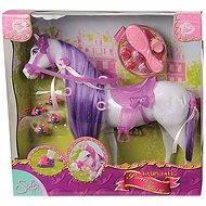 Simba Kůň pro princeznu Steffi Love bílo-fialový