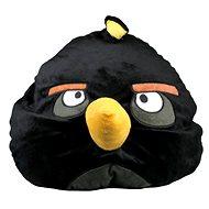 Relaxační polštář Angry Birds - černý (Kamikaze Bird)