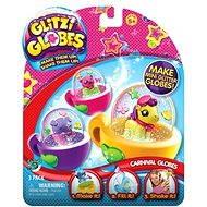 Glitters - Třpytivá sněžítka 3-pack - Karnevalová sněžítka