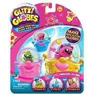 Glitters - Třpytivá sněžítka 3-pack - Sněžítka s princeznami