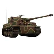 VsTank PRO Airsoft German Tiger I (L) Forest Green