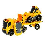 Nákladní auto + Buldozer